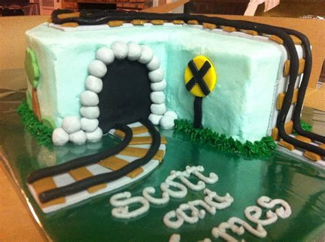 "Cakes by Mindy: Train Cake 9"" x 13"""