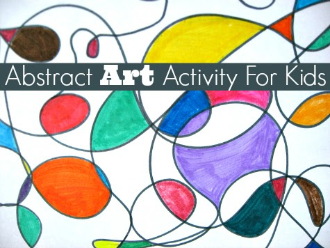 Art Sub Lessons: Abstract Art Activity for Kids