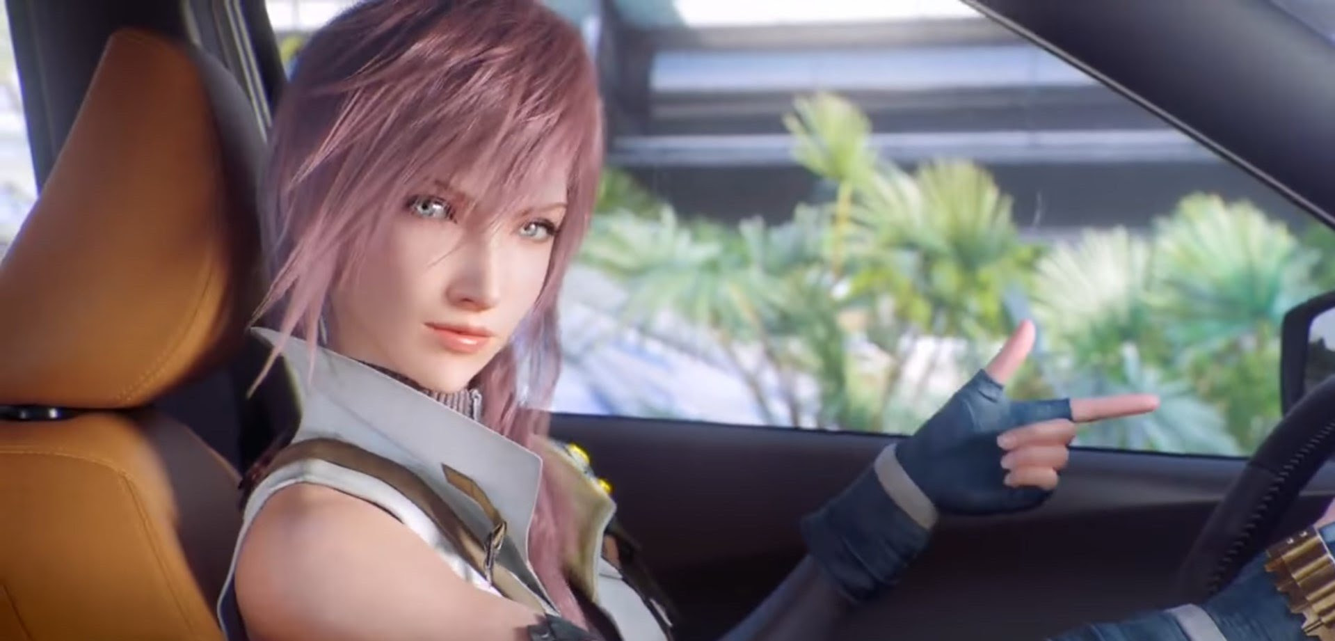 Watch Final Fantasy's Lightning and Snow awkwardly advertise for Nissan in China screenshot