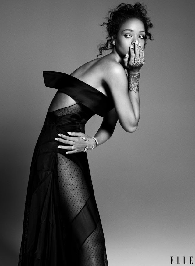 Rihanna : ELLE (December 2014) photo rihanna-for-elle.jpg