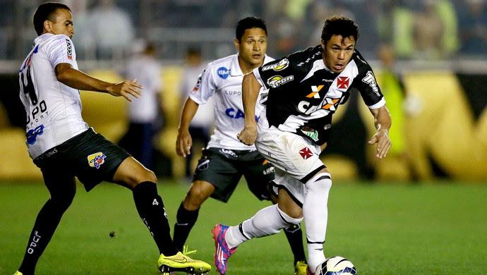 Kleber jogo Vasco x ABC Copa do Brasil (Foto: Dhavid Normando / Futura Press)