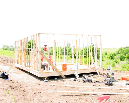 Hillbilly Hill - Building the Cabin