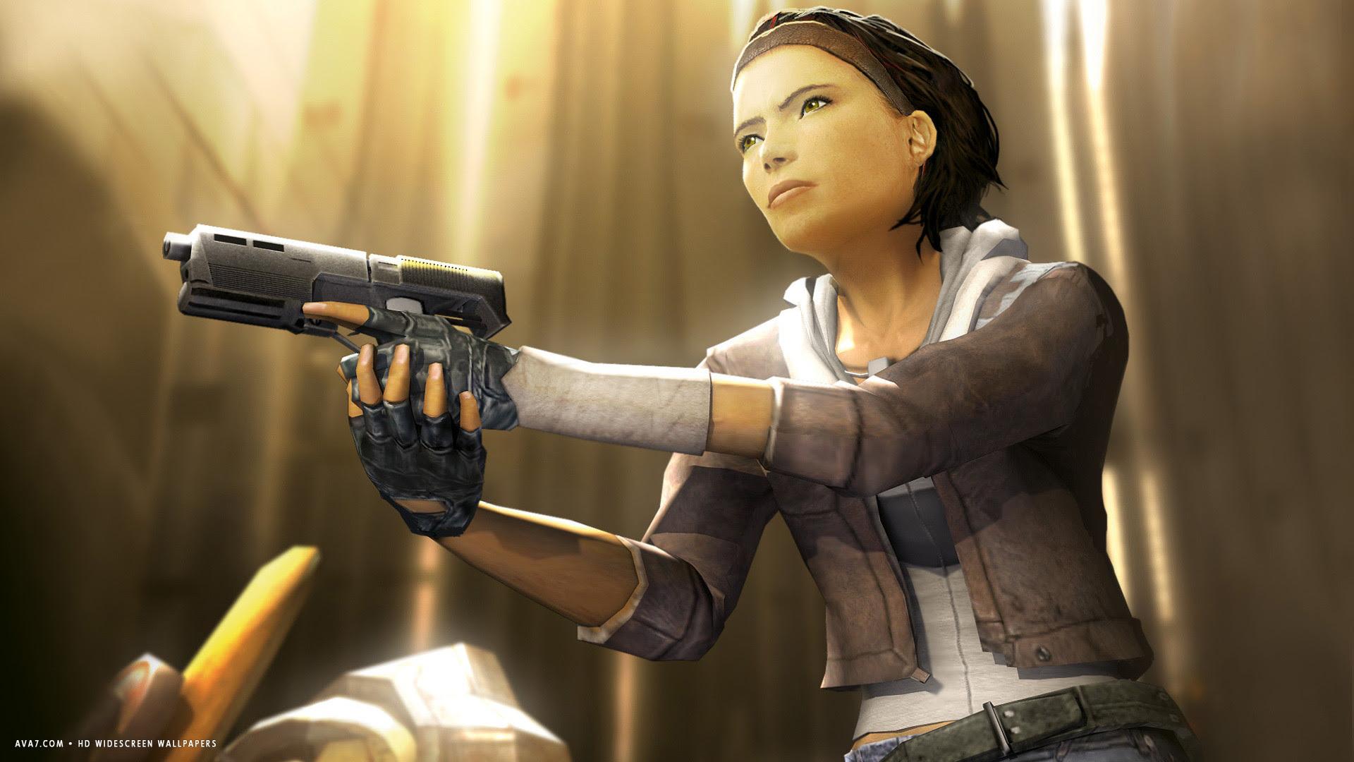 Half Life 2 Episode One Game Alyx Hd Widescreen Wallpaper Games