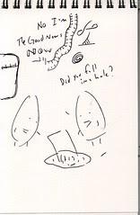 """Lost"" Sketchbook - page 8"