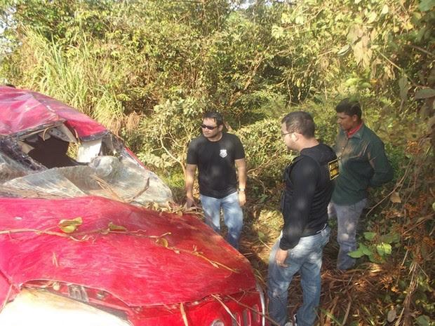acidente Transamazônica (Foto: Divulgação/ Polícia Civil)