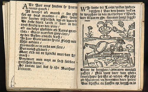 Verhael met den Almanach - Jacob Mesens 1692 b