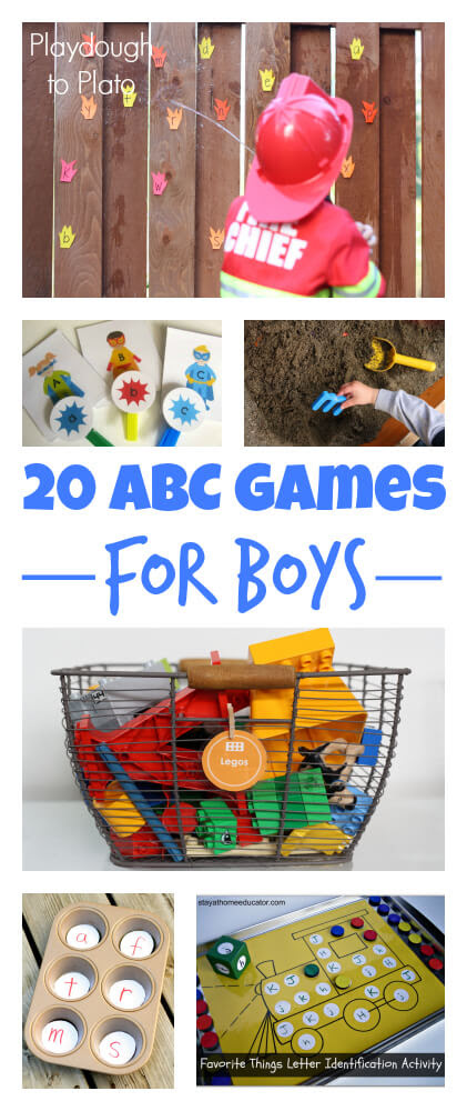 20 Awesome ABC Games for Boys