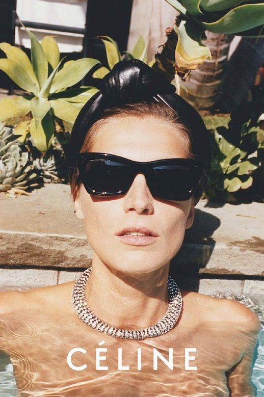 Le Fashion Blog Summer Style Daria Werbowy Celine SS 2013 Campaign Leather Head Band Sunglasses photo Le-Fashion-Blog-Summer-Style-Daria-Werbowy-Celine-SS-2013-Campaign-Leather-Head-Band-Sunglasses.jpeg