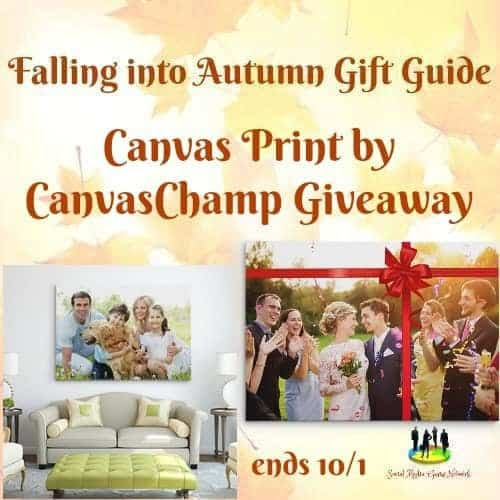 Enter the Canvas Print by CanvasChamp Giveaway. Ends 10/1