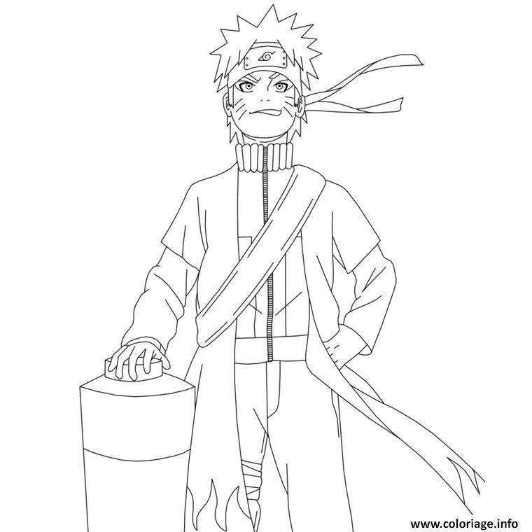 Dessin De Manga Naruto Facile