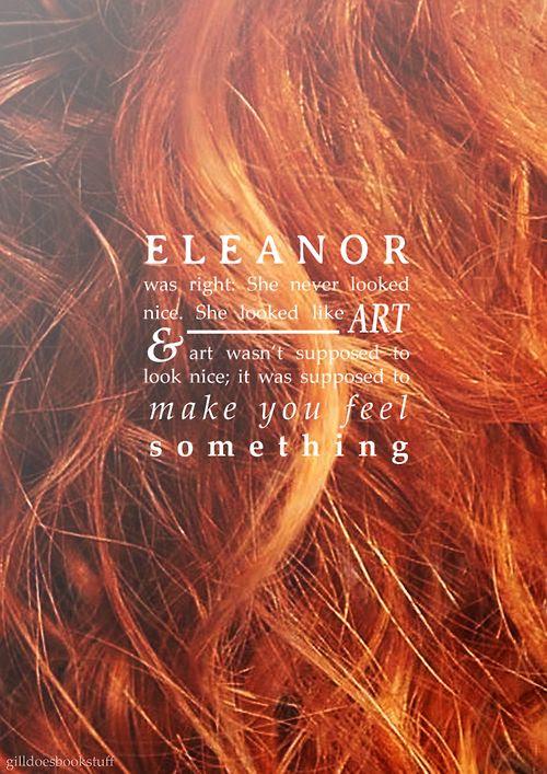 Eleanor and Park by Rainbow Rowell. Such a good/sad book.