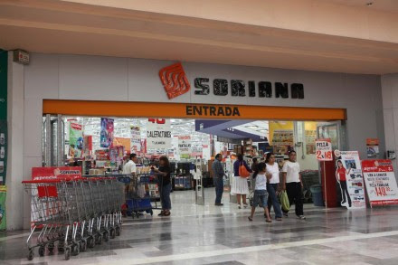 Una sucursal de Soriana en el D.F. Foto: Benjamin Flores