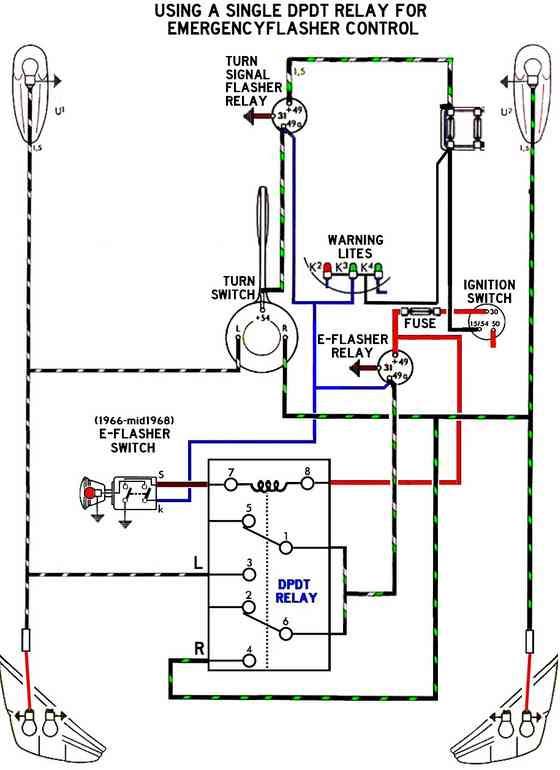 67 Vw Bug Turn Signal Switch Wiring Diagram