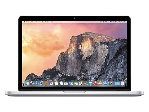 "Apple MacBook Pro 13.3"" 4G RAM 320GB - Silver (Refurbished) for $445"