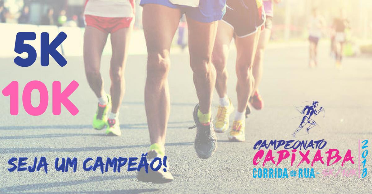 Campeonato Capixaba de Corrida de Rua vai definir e premiar os corredores mais rápidos do Espírito Santo