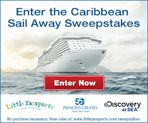Caribbean Sail Away Sweepstakes. Ends 6/30