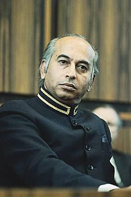 Image result for zulfiqar ali bhutto