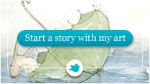 Start a storybird with my art