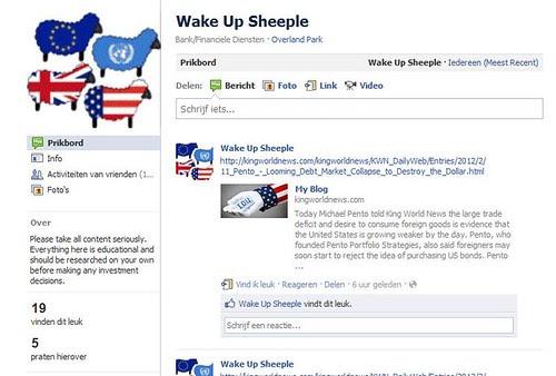 Wake Up Sheeple by totemtoeren