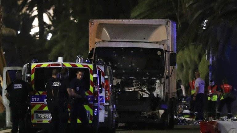 Το φορτηγό που σκόρπισε τον θάνατο