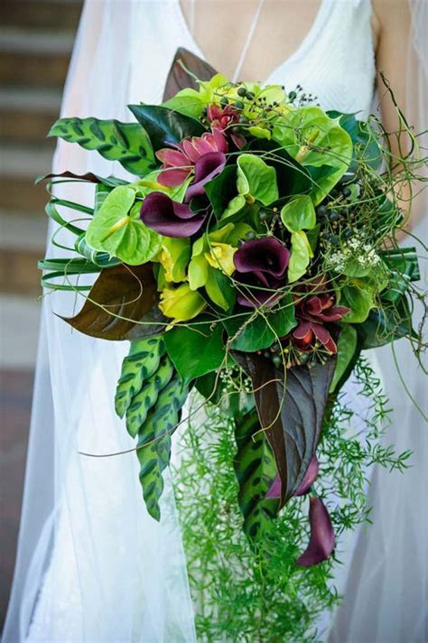 17 Best images about Greenery Cascade Bouquet on Pinterest
