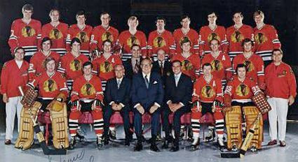 72-73 Chicago Blackhawks team