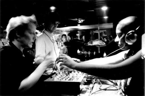 Paris Party Technikart party Cafe carmen