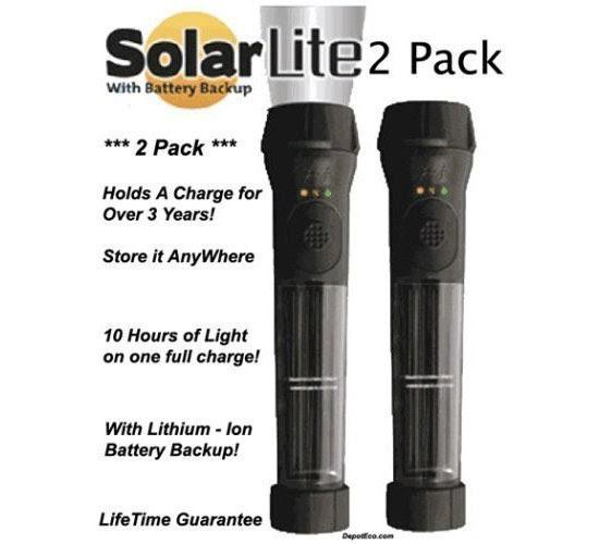 Lanterna Solar híbrido alimentado