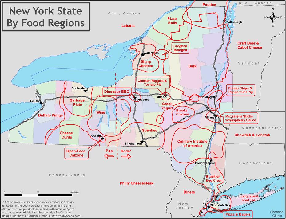 food regions new york state shannon glazer