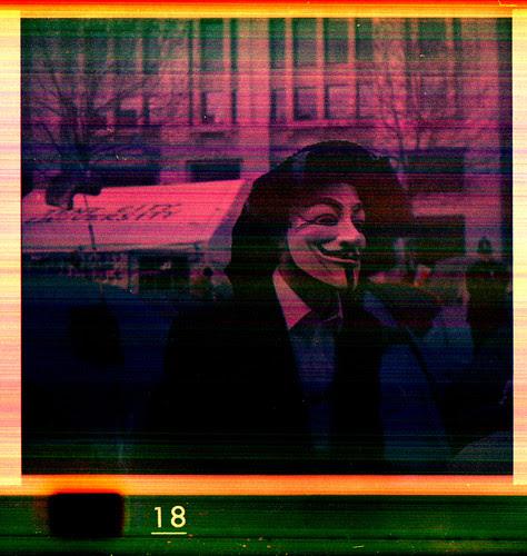 anti-capitalist protestor by pho-Tony