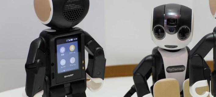 Robohon: Το smartphone-ρομπότ που...περπατά [εικόνες και βίντεο]