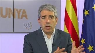 """Francesc Homs, aquest dilluns, a """"Els matins"""" de TV3"""