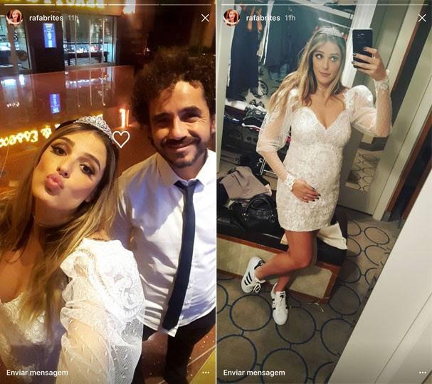 Rafa Brites e Felipe Andreoli em Las Vegas (Foto: Reprodução/Instagram)