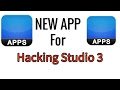 New Hacking Studio 3 App