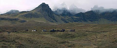 Trottensh Ridge, Skye