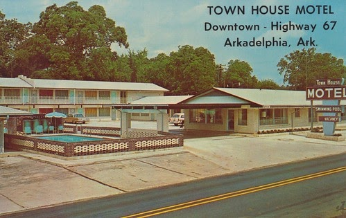 Wish You Were Hear: Town House Motel - Arkadelphia, Arkansas