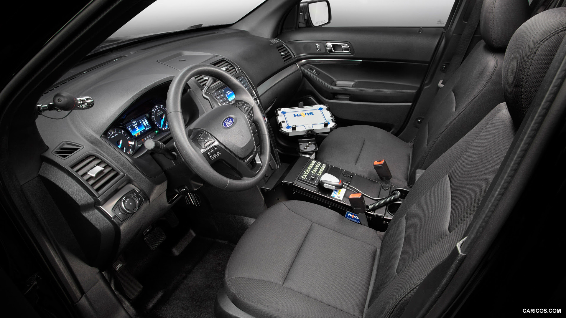 2016 Ford Police Interceptor Utility - Interior | HD Wallpaper #23