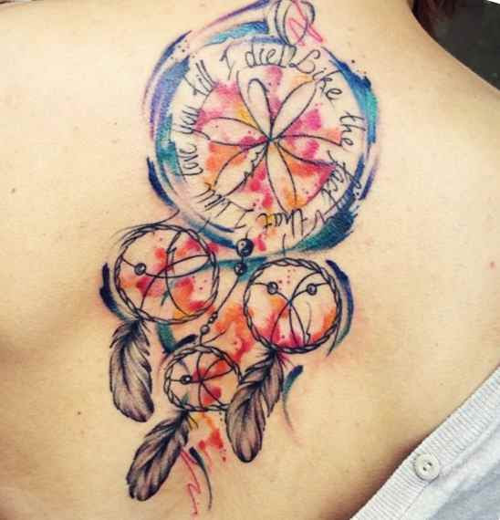Dreamcatcher Tattoo Meaning Symbolism Tattoo Designs Ideas For Man