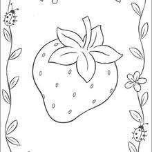 Dibujos De Tarta De Fresa Para Colorear Dibujos Para Colorear