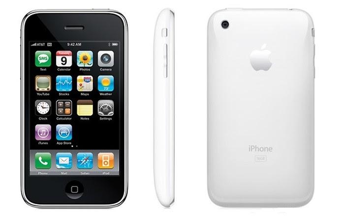 iPhone 3G chegou ao Brasil em setembro de 2008 (Foto: Divulgação/Apple)