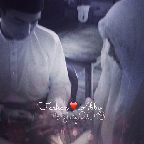 Gambar Pernikahan Abby Abadi Dengan Farhan
