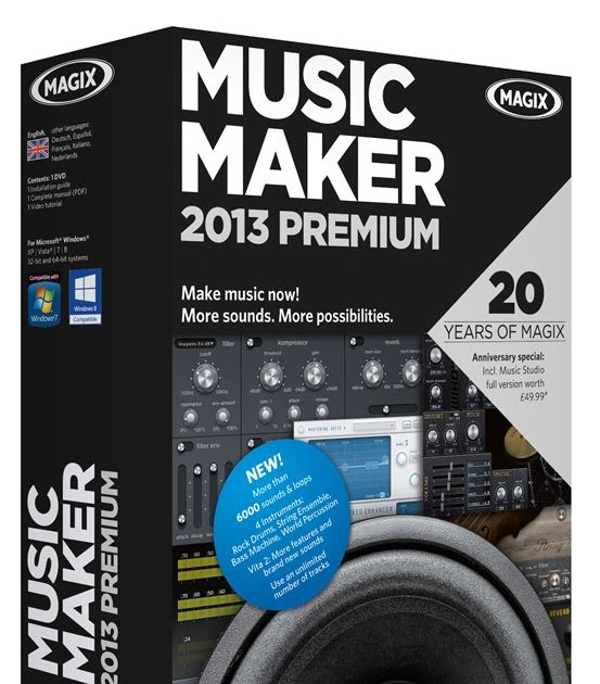 magix music maker 2013 free download vollversion