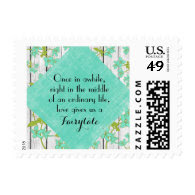 Rustic Wood and Floral with Quote Stamps
