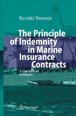 Principle of Indemnity in Marine Insurance Contracts A ...