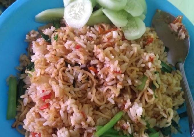 Resep Nasi Goreng mawut (magelangan) Yang Enak
