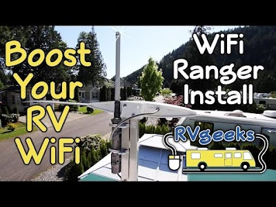 RV Geeks videos: Wi-Fi Ranger, New RV Sewer Hose Set-up, Carefree of Colorado RV Slide Topper & New RV Tires