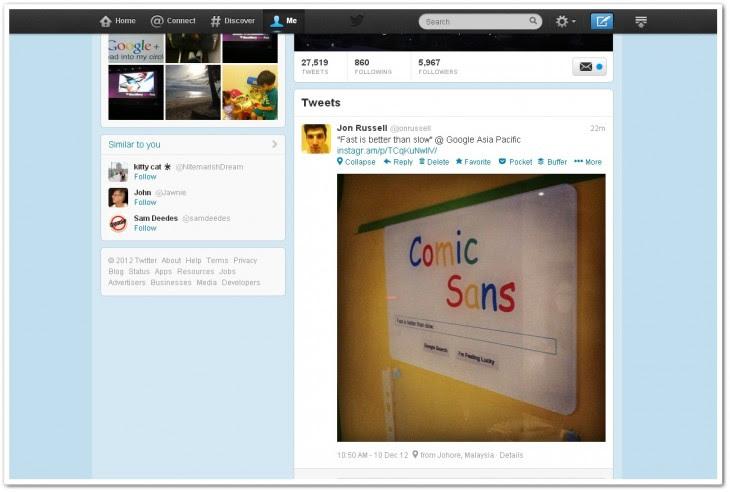 instatweet 730x492 InstaTwit: إضافة على جوجل كروم تمكنك من مشاهدة صور انستقرام مباشرة في تويتر