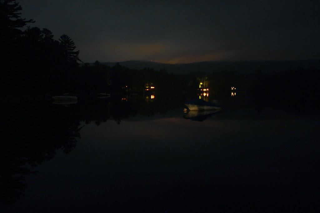 Stockbridge Bowl at night