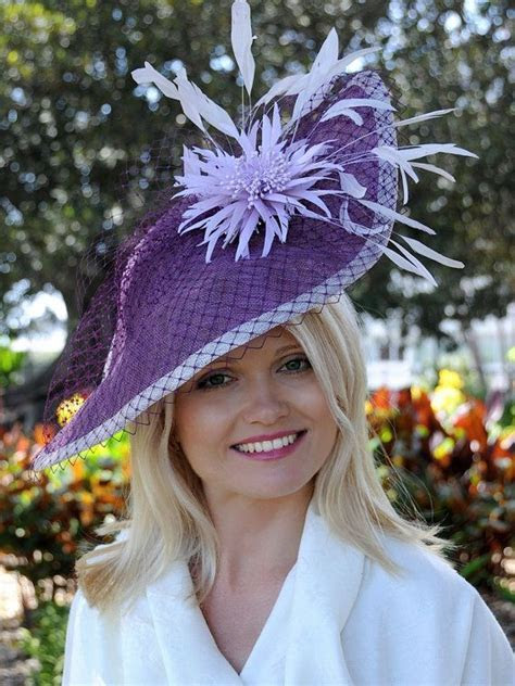 17 Best ideas about Purple Fascinator on Pinterest