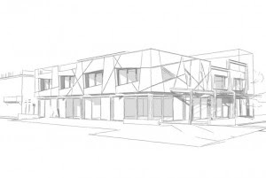 Michael Wyatt Architect designed the three storey building on Marine Parade
